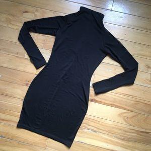 Dresses & Skirts - black mock neck dress